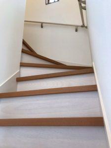 宇土 Y様邸 階段 上り1