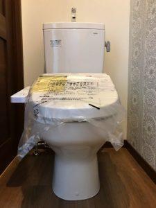 益城町 T様邸 平屋 トイレ