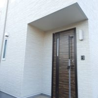 熊本市東区S様邸 外観玄関ドア