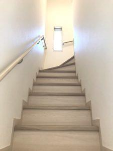 沼山津モデル 階段