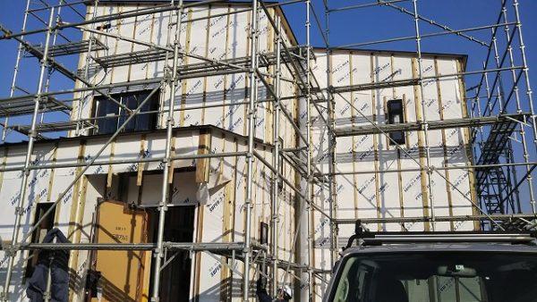 楡の木外装工事20190308